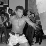 Muhammad Ali Training at BBC Gym in Preparation For His Fight Against Brian London Photographic Print