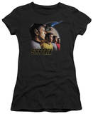 Juniors: Star Trek - Forward to Adventure T-shirts