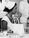 Princess Margaret at Luncheon During Her East Africa Tour in 1956 Photographic Print