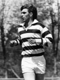 Prince Andrew Playing Rugby in Canada May 1977 Photographic Print