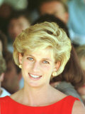Princess of Wales Visits Rehabilitation Centre in Sydney November 1996 Photographie