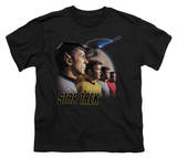 Youth: Star Trek - Forward to Adventure T-shirts