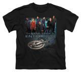 Youth: Star Trek - Enterprise Crew Shirts