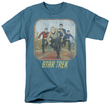 Star Trek - Running Cartoon Crew Shirts