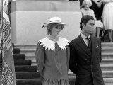 Prince Charles and Princess Diana July 1983 Royal Visits Canada Prince and Princess of Wales Photographic Print
