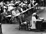 Queen Silver Jubilee at St Pauls Cathederal Photographic Print
