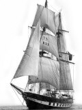 Sail Training Ship Royalist, March 1976 Photographic Print