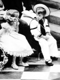 Prince William at the Wedding of the Duke and Duchess of York Photographic Print