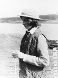 Princess Diana on the Isle of Uist Western Isles Scotland June 1981 Photographic Print