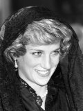 Prince Charles and Princess Diana in the Vatican Photographic Print