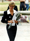 Princess Diana Royalty September 1991 Photographie