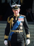 Prince Charles at St Paul's Cathedral Where Queen Elizabeth Unveiled Memorial to British Servicemen Photographic Print