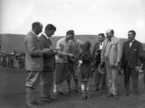 The Duke of York Evan Williams and F Hodges May 1924 at a Golf Tournament Photographic Print