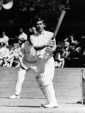 Prince Charles Batting at Charity Cricket Match on Lord Brabourne's Estate, July 1968 Photographic Print