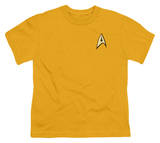 Youth: Star Trek - Command Uniform T-shirts