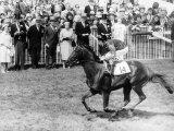 Milford Horseracing and Jockey Lester Piggott Fotografisk tryk
