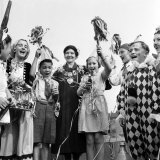 Coronation 1953. Coronation Street Party in Howberry Road, London Photographic Print