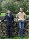 Prince William Holds Photo Call at Highgrove and Publicly Condemns Royal Traitor Patrick Jephson Photographic Print
