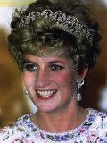 Princess Diana Seoul Korea During Royal Visit November 1992 Photographic Print
