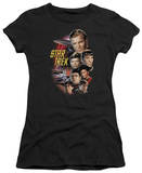 Juniors: Star Trek - The Classic Crew T-shirts