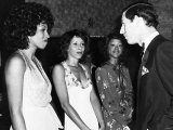 The Three Degrees Meet Prince Charles After Charity Show at a Country Club in Eastbourne, Sussex Photographic Print