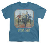 Youth: Star Trek - Running Cartoon Crew T-Shirt
