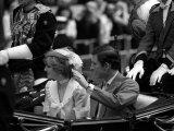 Royal Wedding of Prince Charles and Diana Photographic Print