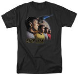 Star Trek - Forward to Adventure T-shirts