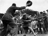 World War II Women, ATS Women Take Part in a Tug of War Competition, August 1941 Photographic Print