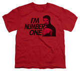 Youth: Star Trek - Next Generation - I'm Number One T-shirts