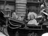 Queen Mother and Duke of York in Carriage on the Way to Prince Charles Wedding to Princess Diana Photographic Print