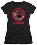 Juniors: Star Trek - No Klingons T-shirts