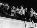 Queen Mother Presents the FA Cup to Sunderland Captain 1937 Photographic Print