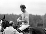 Prince Charles. Polo at Windsor. June 1977 Photographic Print