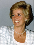 Princess Diana Patron of the British Lung Foundation Photographie