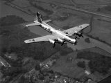 "World War II B-17 ""Flying Fortress"", ""Sally B"" in Flight After Blow Out, July 1983 Photographic Print"