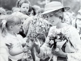 Princess Diana of Wales Visit to Open the Fisher Price Toy Factory in Peterlee Photographic Print