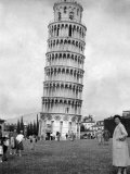 Leaning Tower of Pisa, Italy, May 1955 Photographic Print