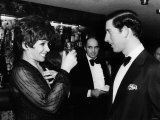Shirley Bassey Singer Meeting Prince Charles November 1979 Photographic Print