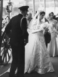 Queen Elizabeth II Marries the Duke of Edinburgh Photographic Print