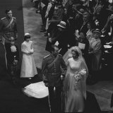 Princess Anne and Mark Phillips Wedding Photographic Print