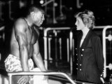 Frank Bruno Boxing Meets Diana Princess of Wales Photographic Print