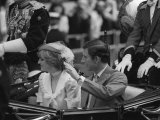 Prince Charles and Diana Wedding Off For Extended Honeymoon Photographic Print