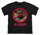 Youth: Star Trek - No Klingons Shirts