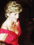 Princess Diana in Japan November 1990 Photographic Print