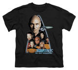 Youth: Star Trek - The Next Generation Crew T-shirts