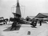 SE5, Old British War Plane Owned by a German with Swastika on Tail, January 1936 Photographic Print