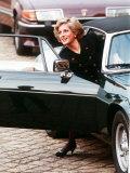 Princess Diana at a Charity Auction at Bleinheim Palace November 1988 Photographic Print