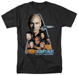 Star Trek - The Next Generation Crew T-shirts