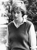 Princess Diana Before Marrying the Prince of Wales September 1980 Photographic Print